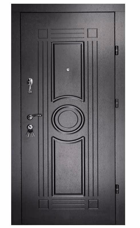 Metāla Durvis Ar MDF Apdari