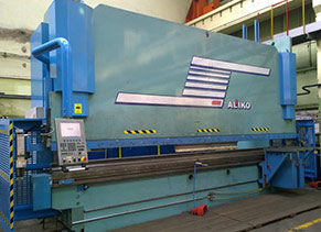 Metal bending ALIKO SP6000-400